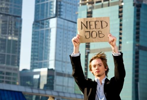 Szukając pracy